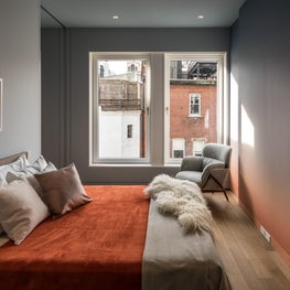 Upper East Side Townhouse, Guest Bedroom, permanent sunset