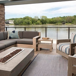 Delaware River Home, New Hope Patio