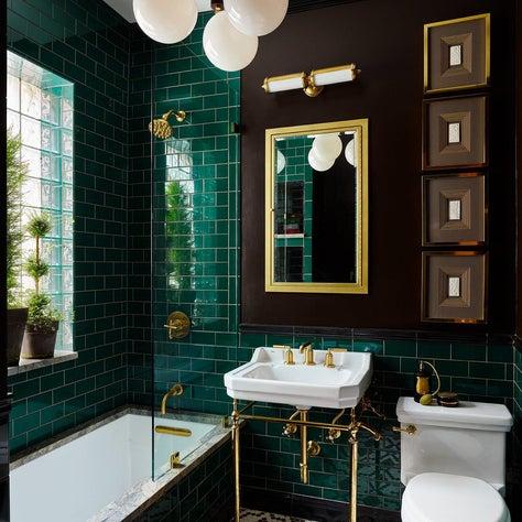 Gentelmans bathroom retreat