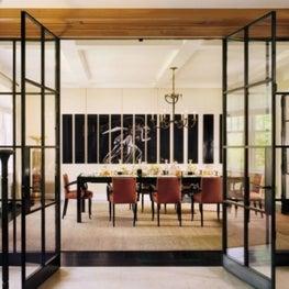 Park Avenue New York dining room