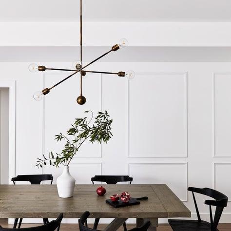 Dining room millwork, transitional kitchen, modern farmhouse