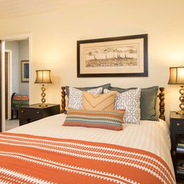 Cottage and Antique inspired Guest Bedroom