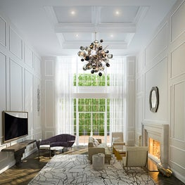 Greenwich Village Townhouse, Living Room