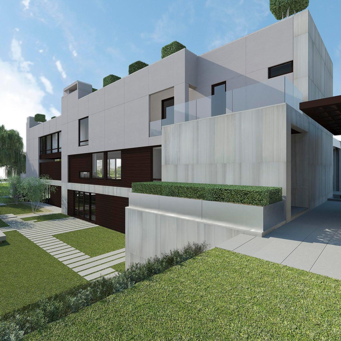 Modern Waterfront Southampton Home