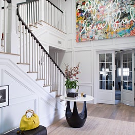 Bel Air Hills Two-Story Foyer