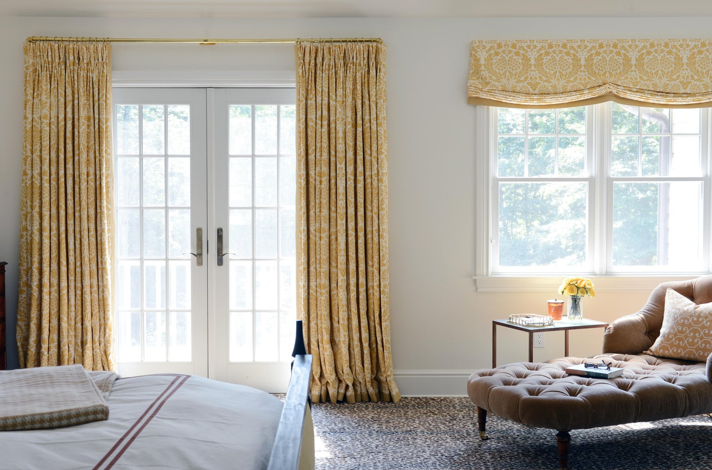 A Sunny Master Bedroom
