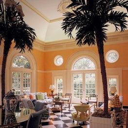 Interior, Inwood Pool Pavilion, Houston, Texas