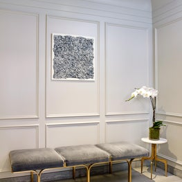 Seating in NYC Residential Lobby