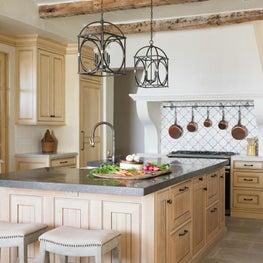 Mediterranean Farmhouse Traditional Kitchen