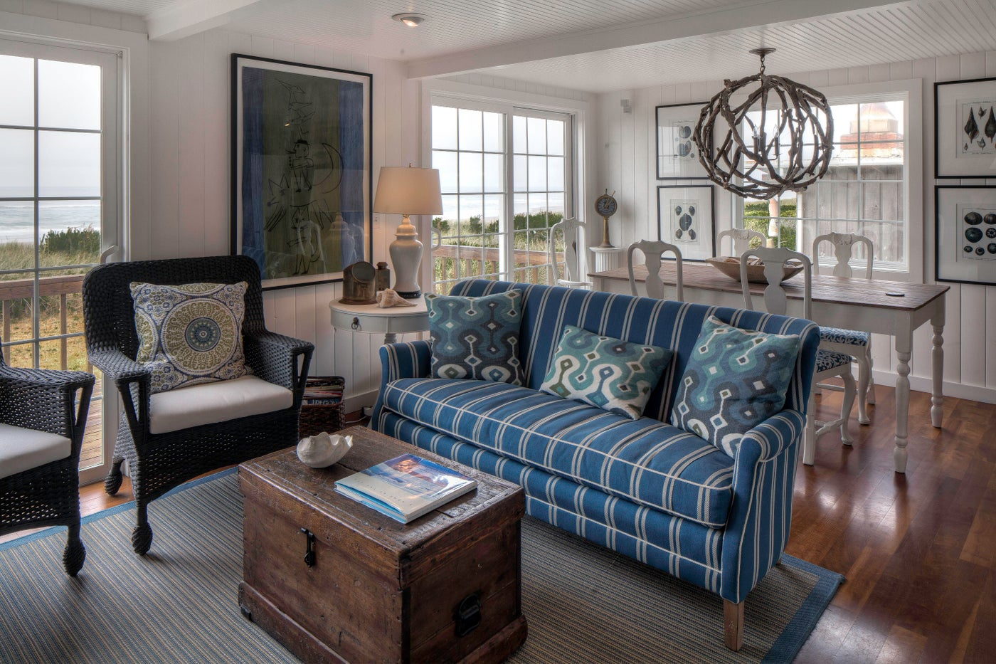 Oregon Coast Living Room