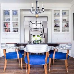 A breakfast room and homework room.