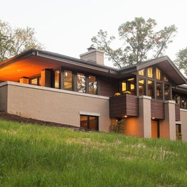 Modern Prairie - Hillside House