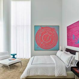 Miami Beach Residence, Bedroom