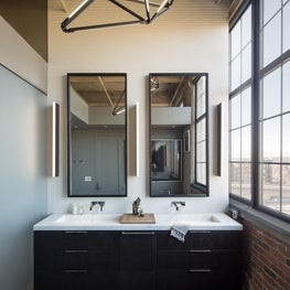 Denver Flour Mill Loft Master Bath