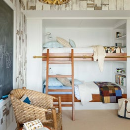 Bunk Room at Oceanfront Harpswell Home