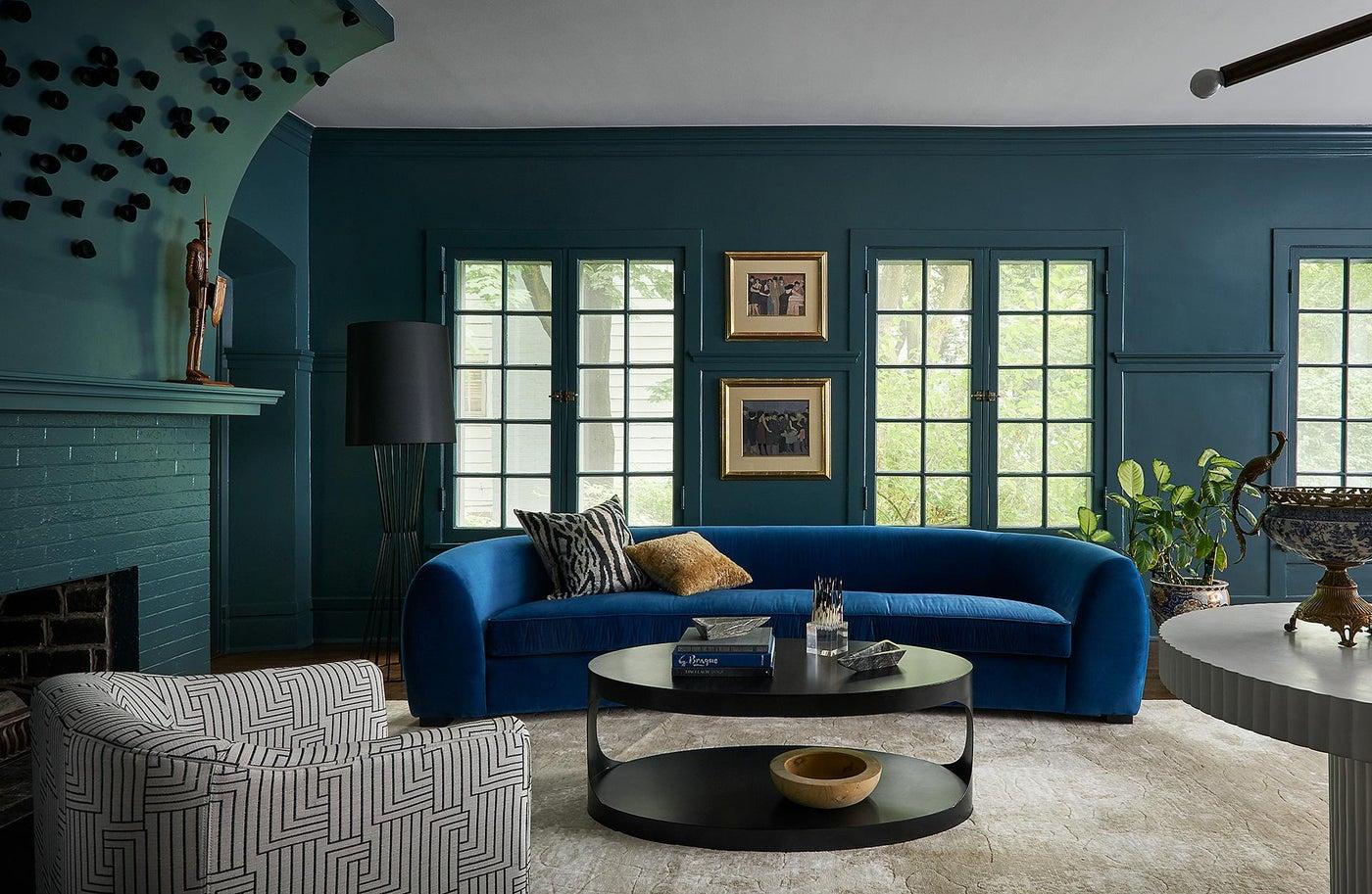 Evanston House of Jewels, Living Room