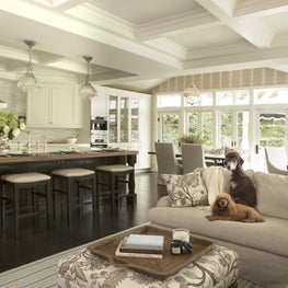 Beverly Hills - Kitchen, dining area and great room