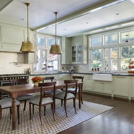 Traditional Kitchen with youthful elements