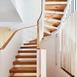 Park Slope Modern Row House Staircase