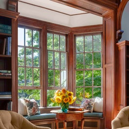 A New England University Residence - Window Alcove
