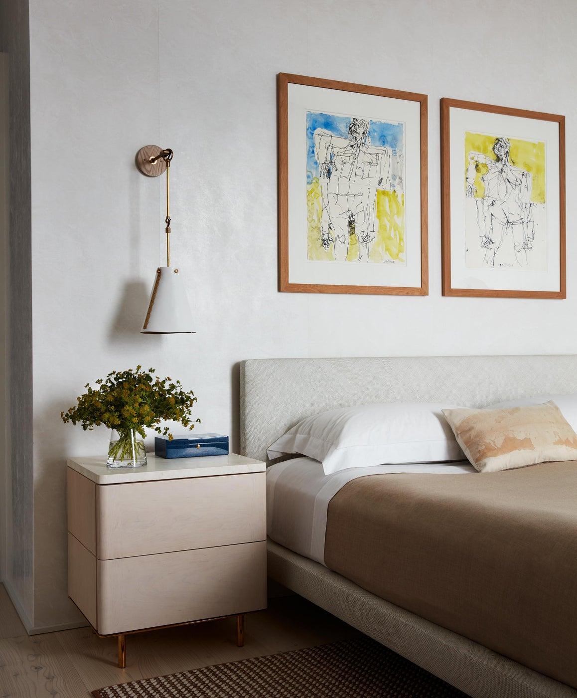 West Village Apartment Master Bedroom
