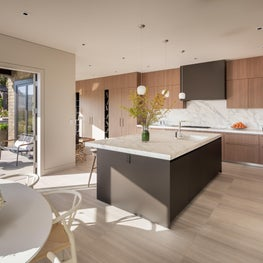 DZINE - Custom Boffi kitchen for a Russian Hill, San Francisco Home