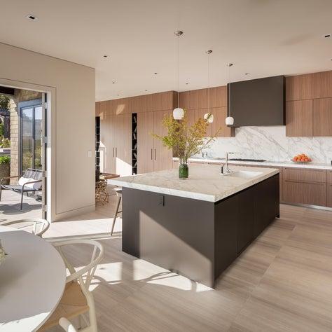 DZINE - Custom Boffi kitchen for a Russian Hill, San Francisco Home