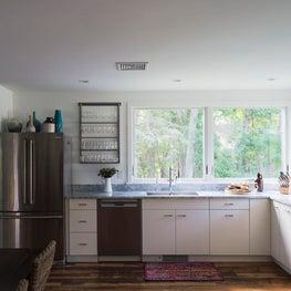 Sun Soaked Beach House Kitchen