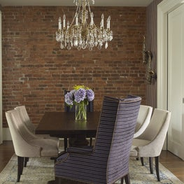 Dining room - brownstone, Cobble Hill, Brooklyn