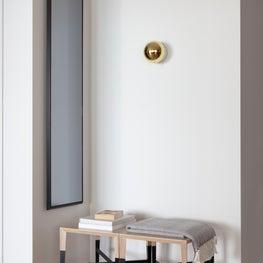 Custom Entrance Stools and Mirror