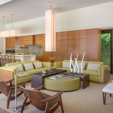 Palm Springs Residence Living Room