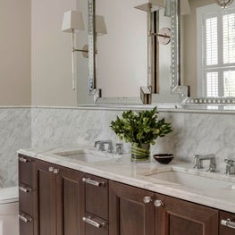 Luxury Calacatta Master Bathroom