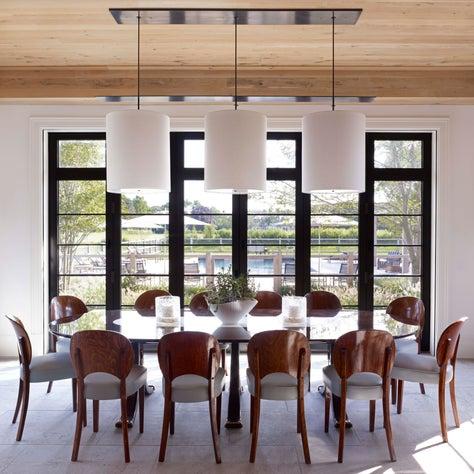 Bridgehampton Residence, Breakfast / Dining Room