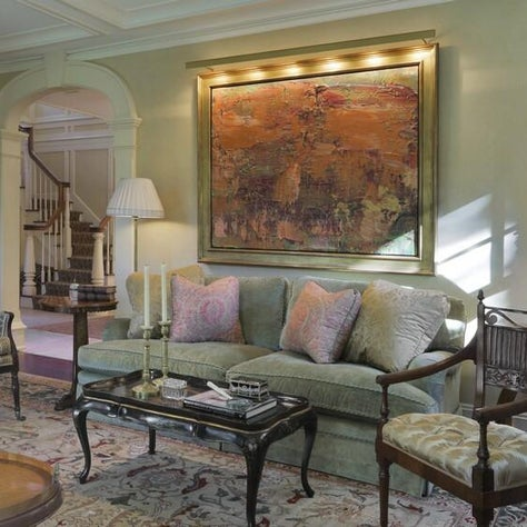WESTCHESTER RESIDENCE Traditional Living Room