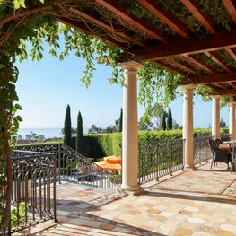 Pergola and Terrace with Ocean View