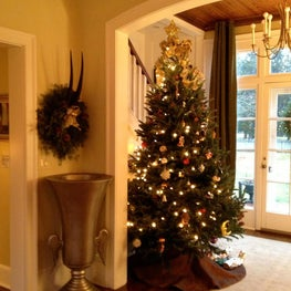 Christmas at Winterset in the Hamptons