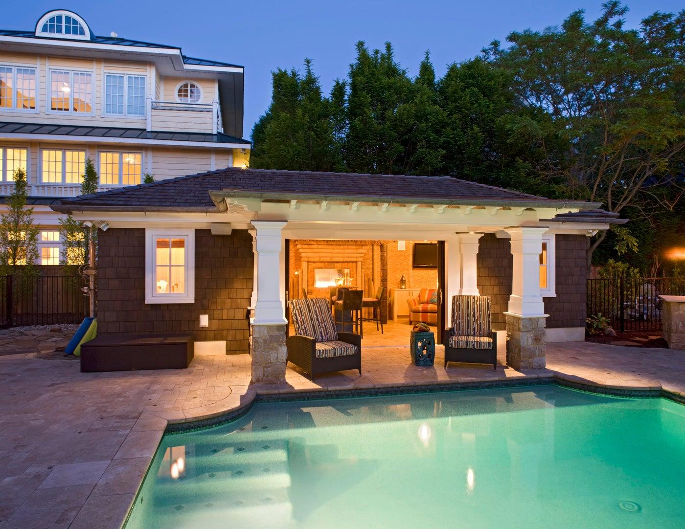 Beach House II Exterior Pool Deck