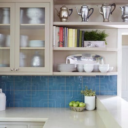 Curated Kitchen - I love these vintage percolators.