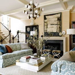 Chicago Townhouse Family Room