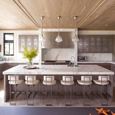 Bridgehampton Residence, Kitchen w/ neutral palette