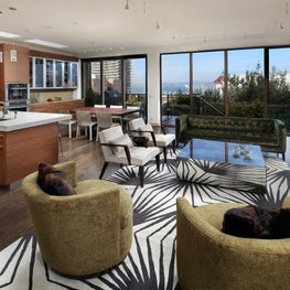 Russian Hill | Open Kitchen, Dining and Living Room