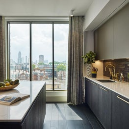 Kitchen for a London Loft in Victoria