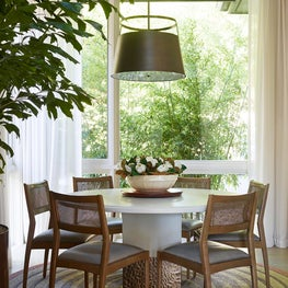 Breakfast Room with Modern style in Atherton Home