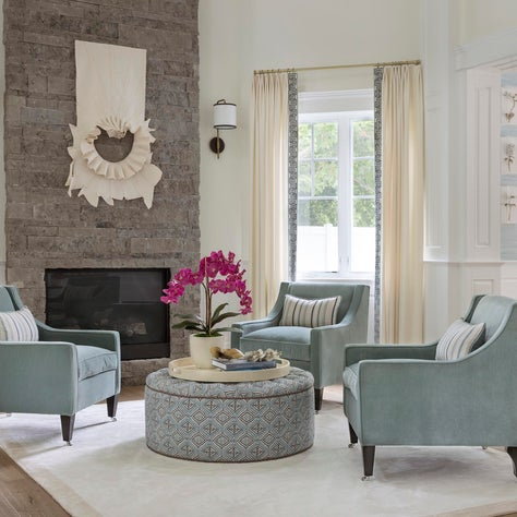 Warm and Inviting Formal Living Room