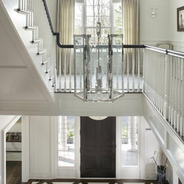 Grand Entrance from 2nd floor perspective