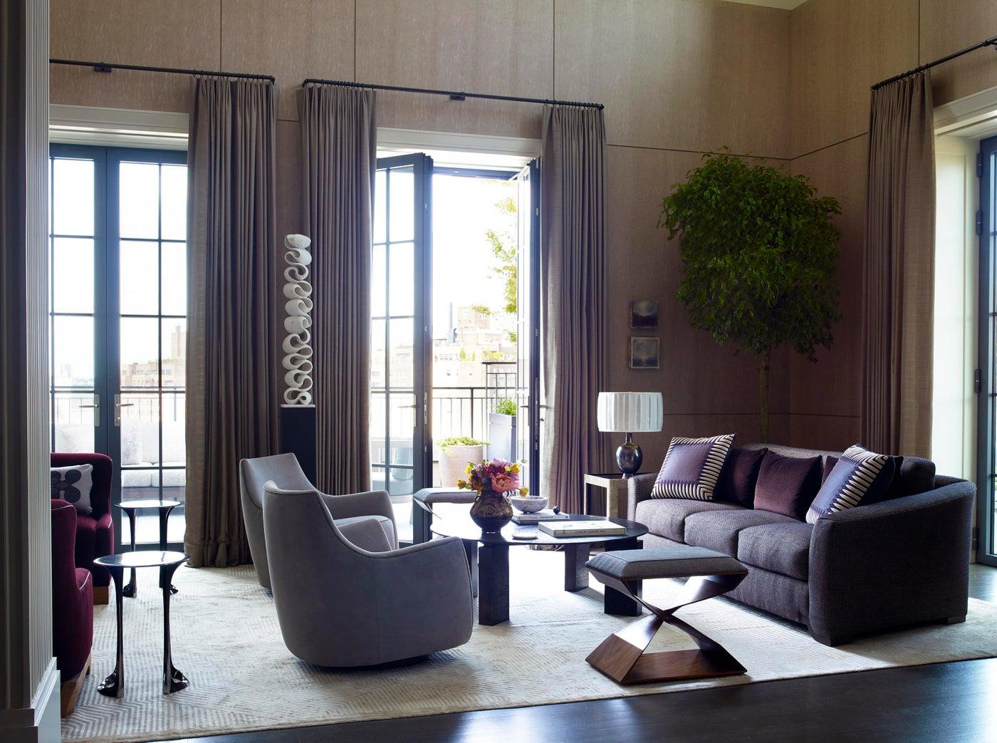 Living Room - Downtown Triplex Apartment
