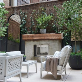 Greenwich Village NYC Apartment, Master Terrace