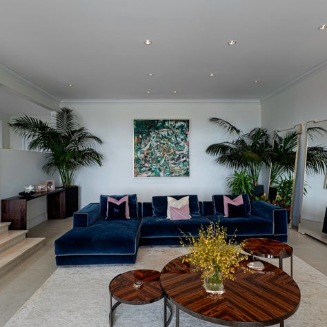 Beverly Hills Trousdale Estate with Furnishings from Fendi