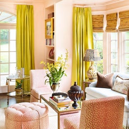 Historic Charmer, Featured in Luxe Magazine / Living Room