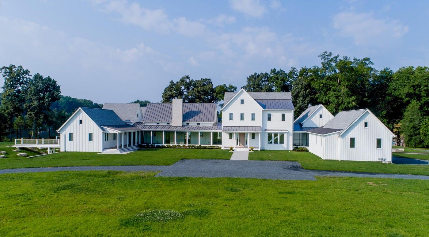 White Farmhouse, compound, exterior